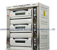 Жарочный шкаф 3 яруса 3 листа электр + доставка по Алматы бесплатная
