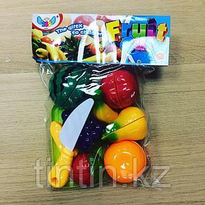 Фрукты в разрезе на липучках (7 фруктов)