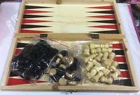 Набор шахматы в деревянной коробке