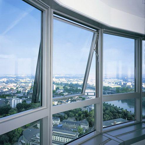 Алюминиевые окна в дом