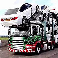 Транспортировка автомобилей автовозами