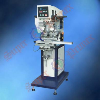 Полуавтоматический двухкрасочный станок для тампонной печати
