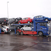 Перевозка легковых автомобилей