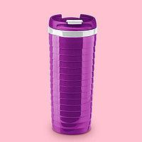 """Термостакан фиолетовый """"Волны"""", 350 мл"""