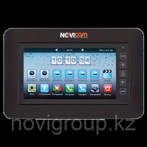 Видеодомофон цветной 4-х проводной сенсорный PM76 NOVIcam