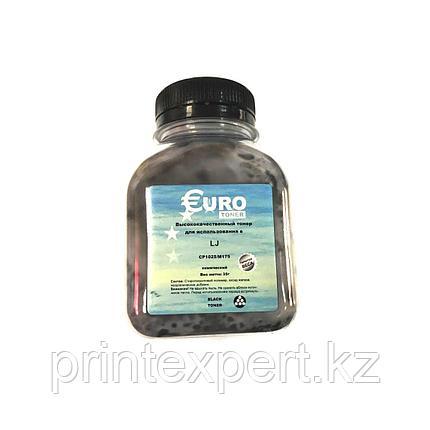 Тонер EURO TONER для HP CLJ CP1215/1515/1518/1312 Universal Black химический (55 гр) , фото 2