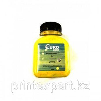 Тонер EURO TONER для HP CLJ CP1215/1515/1518/1312 Universal Yellow химический (45 гр) , фото 2