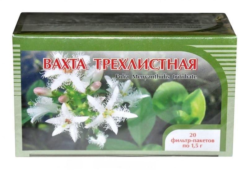 Вахта трехлистная, лист, 50 г