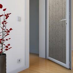 Металлопластиковые двери внутренние