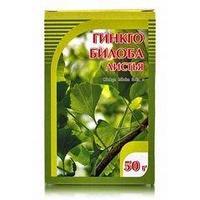 Гинкго билоба+клевер, цветки и трава, 50 г