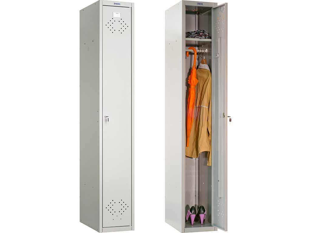 Шкаф металлический ПРАКТИК LS 01-40 (1830х418х500 мм)