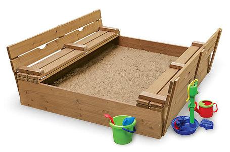 Песочница с крышкой 150см*150см, фото 2