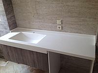 Мойки из искусственного камня в ванную комнату