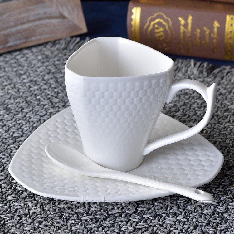 Копия Бизнес керамическая чашка. Маленькая 160мл. - фото 1