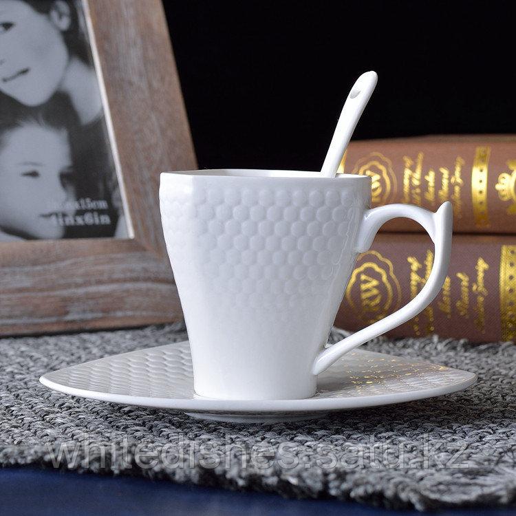 Копия Бизнес керамическая чашка. Маленькая 160мл. - фото 3