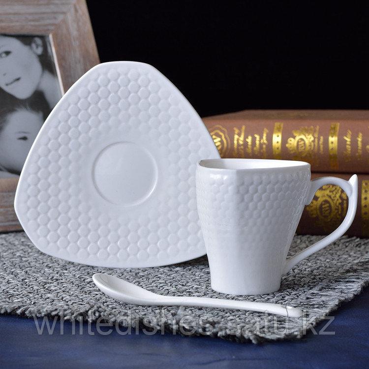 Копия Бизнес керамическая чашка. Маленькая 160мл. - фото 4