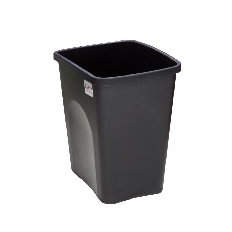 Ведро для мусора 22 л без клапана из пластика, Зета,  ZETA,