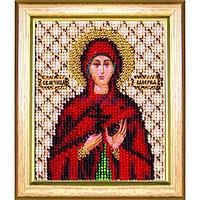 Набор для вышивки бисером Чарівна Мить Б-1099 Икона святая мученица Валерия