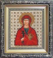 Набор для вышивки бисером Чарівна Мить Б-1069 Икона святая мученица узорешительница Анастасия