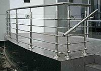 Балконные огражения из нержавеющей стали