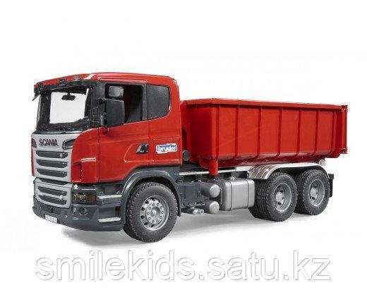 Самосвал-контейнеровоз Scania