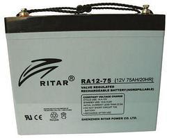 Аккумуляторная батарея Ritar RA12-75