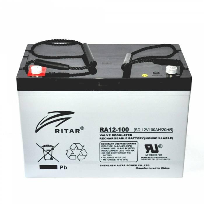 Аккумуляторная батарея Ritar RA12-100