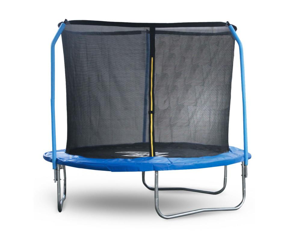 Батут Start Line Fitness 8 футов (244 см) с внутренней сеткой и держателями