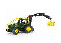 Трактор John Deere 7930 лесной с манипулятором, фото 1