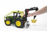 Трактор John Deere 7930 лесной с манипулятором, фото 2
