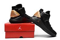 """Баскетбольные кроссовки Air Jordan XXXII (32) """"Black/Gold"""" (40-46), фото 6"""
