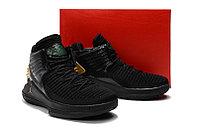 """Баскетбольные кроссовки Air Jordan XXXII (32) """"Black/Gold"""" (40-46), фото 5"""