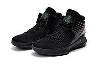 """Баскетбольные кроссовки Air Jordan XXXII (32) """"Black/Gold"""" (40-46), фото 2"""