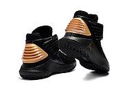 """Баскетбольные кроссовки Air Jordan XXXII (32) """"Black/Gold"""" (40-46), фото 4"""