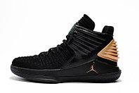 """Баскетбольные кроссовки Air Jordan XXXII (32) """"Black/Gold"""" (40-46), фото 3"""