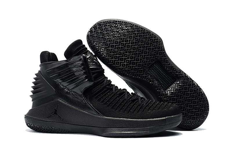 """Баскетбольные кроссовки Air Jordan XXXII (32) """"All Black"""" (40-46)"""
