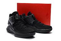 """Баскетбольные кроссовки Air Jordan XXXII (32) """"All Black"""" (40-46), фото 6"""
