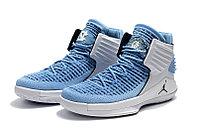 """Баскетбольные кроссовки Air Jordan XXXII (32) """"UNC Tar Heels"""" (40-46), фото 2"""