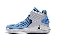 """Баскетбольные кроссовки Air Jordan XXXII (32) """"UNC Tar Heels"""" (40-46), фото 3"""