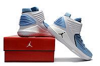 """Баскетбольные кроссовки Air Jordan XXXII (32) """"UNC Tar Heels"""" (40-46), фото 6"""