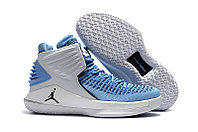 """Баскетбольные кроссовки Air Jordan XXXII (32) """"UNC Tar Heels"""" (40-46)"""