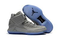 """Баскетбольные кроссовки Air Jordan XXXII (32) """"Grey/Ice"""" (40-46)"""