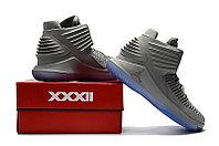 """Баскетбольные кроссовки Air Jordan XXXII (32) """"Grey/Ice"""" (40-46), фото 6"""