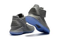 """Баскетбольные кроссовки Air Jordan XXXII (32) """"Grey/Ice"""" (40-46), фото 4"""