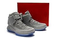 """Баскетбольные кроссовки Air Jordan XXXII (32) """"Grey/Ice"""" (40-46), фото 5"""