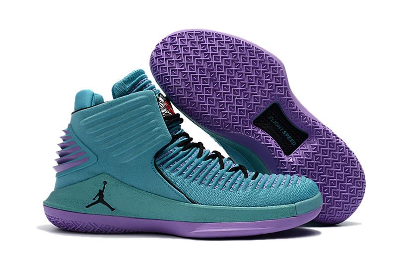 """Баскетбольные кроссовки Air Jordan XXXII (32) """"Hornets"""" (40-46)"""