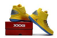 """Баскетбольные кроссовки Air Jordan XXXII (32) """"Yellow/Blue"""" (40-46), фото 5"""