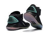 """Баскетбольные кроссовки Air Jordan XXXII (32) """"Black/Hyper Jade"""" (40-46), фото 4"""