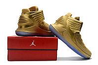 """Баскетбольные кроссовки Air Jordan XXXII (32) """"Metallic Gold"""" (40-46), фото 5"""