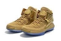 """Баскетбольные кроссовки Air Jordan XXXII (32) """"Metallic Gold"""" (40-46), фото 2"""